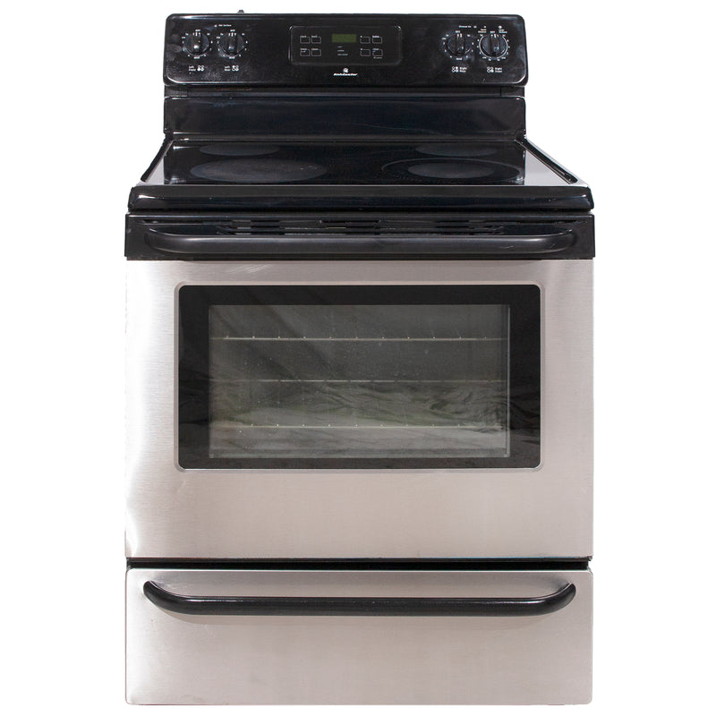 30' Freestanding Electric Electric Stove KAEF3016MSE Stainless Steel