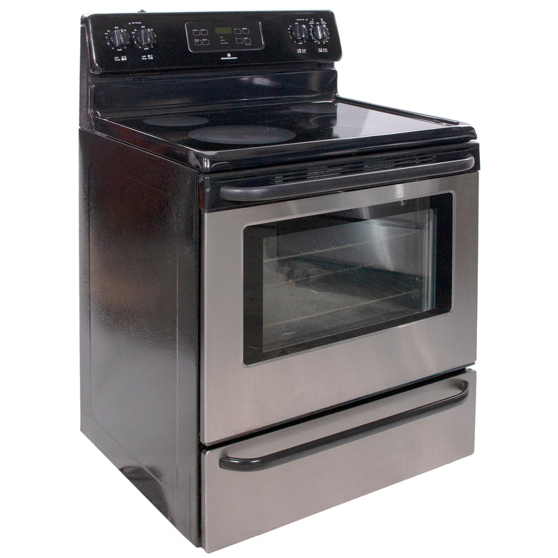 30' Freestanding Electric Electric Stove KAEF3016MSE Stainless Steel (1)