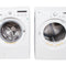 LG 27'' Front Load Stackable Laundry Pairs WM2150HW and DLE3050W White (1)