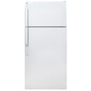 GE 27.5' Top Freezer Refrigerators GTS18HBSARWW White
