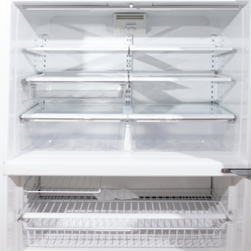 Amana 30'' Bottom Freezer Refrigerators BX21TW White (3)
