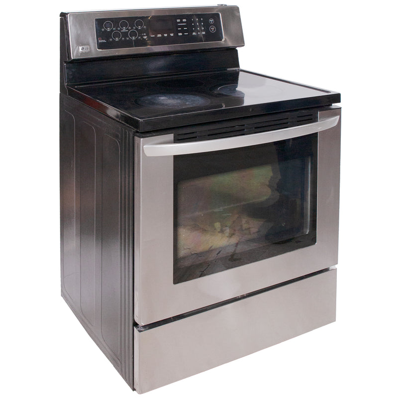 LG 30'' Freestanding Electric Electric Stove LST5601ST Stainless Steel (1)