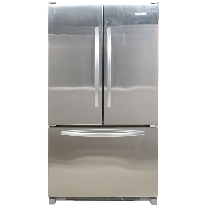 KitchenAid 36' French Doors Bottom Mount Refrigerators KBFS25EVMS0 Stainless Steel