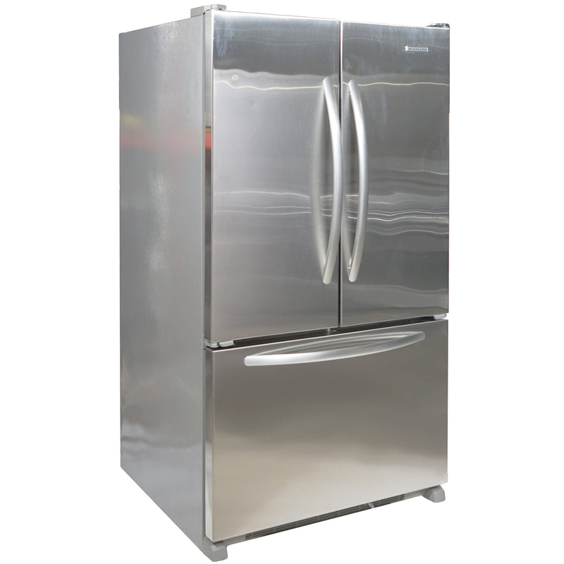 KitchenAid 36' French Doors Bottom Mount Refrigerators KBFS25EVMS0 Stainless Steel (1)