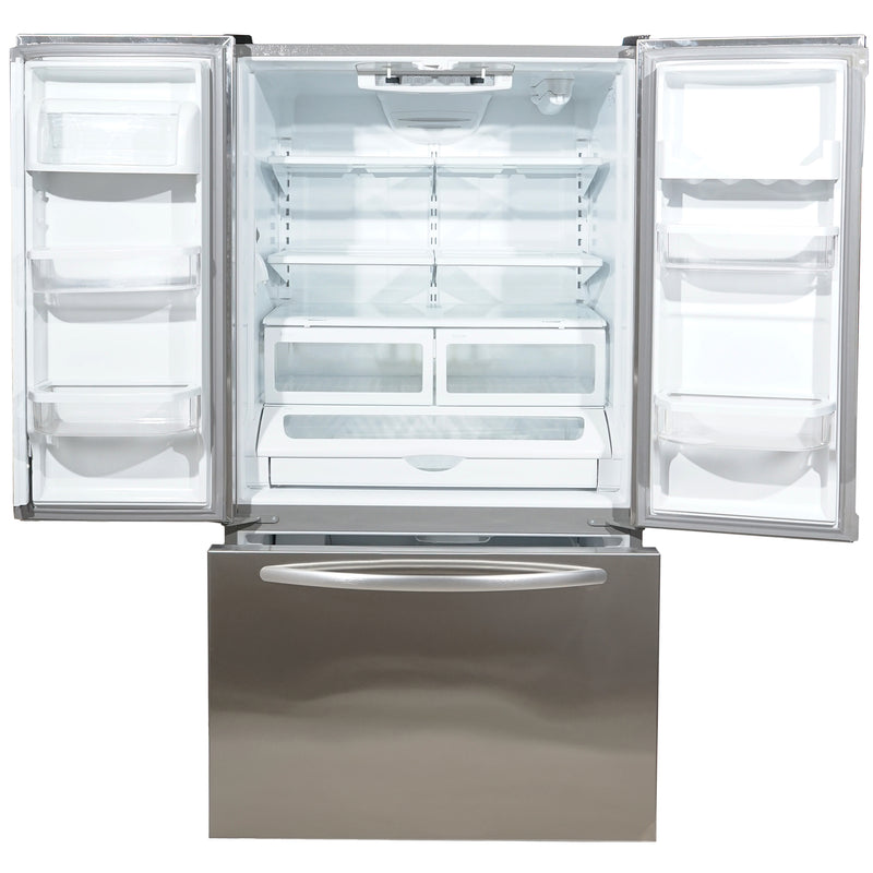 KitchenAid 36' French Doors Bottom Mount Refrigerators KBFS25EVMS0 Stainless Steel (2)