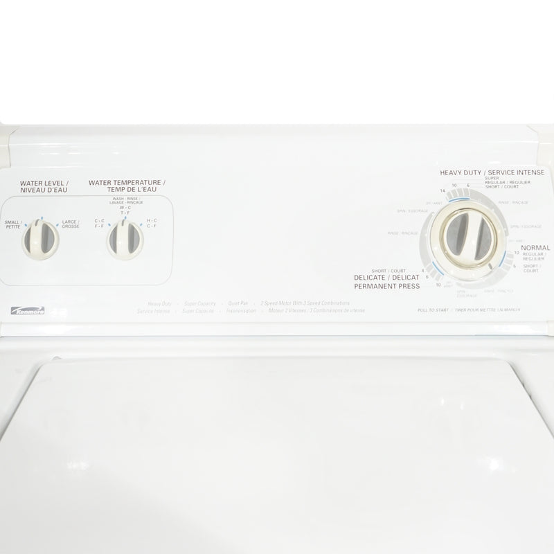 Kenmore 27.5'' Top load Washers (Top Load) 110.256524 White (3)