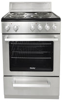 Danby 24' NEW-Open Box Electric Stove DERM240BSSC Stainless Steel