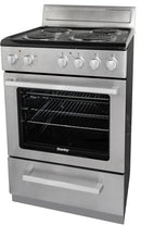 Danby 24' NEW-Open Box Electric Stove DERM240BSSC Stainless Steel (1)