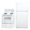 Whirlpool 29' Kitchen Sets Refrigerators YET19DKXDW05 and WDP34911 White