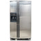 Whirlpool 33' Side by Side Refrigerators GD22DCXHS02 Stainless Steel