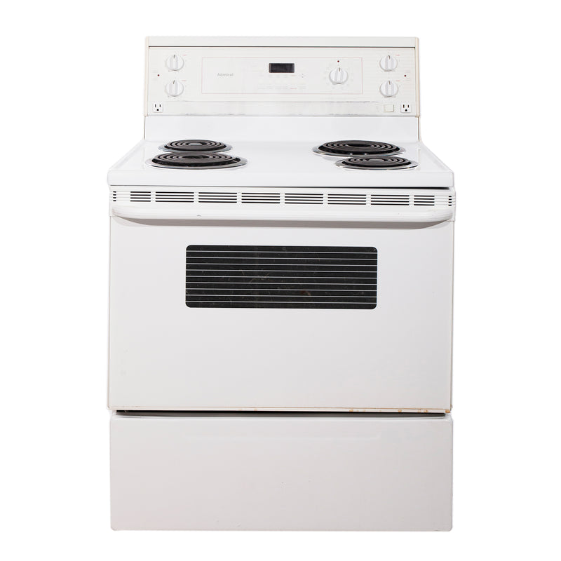 Admiral 29'' Electric Freestanding Electric Stove ACE34300 White