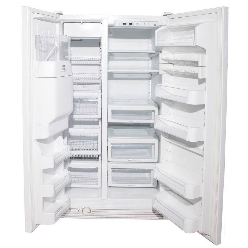 KitchenAid 36'' Side by Sid Refrigerators KSRS25FTWH01 White (1)