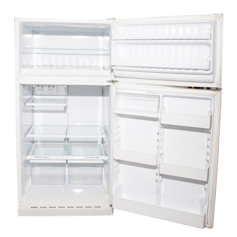 GE 28'' Top Mount Refrigerators LXW18JPBRW-2 White (2)
