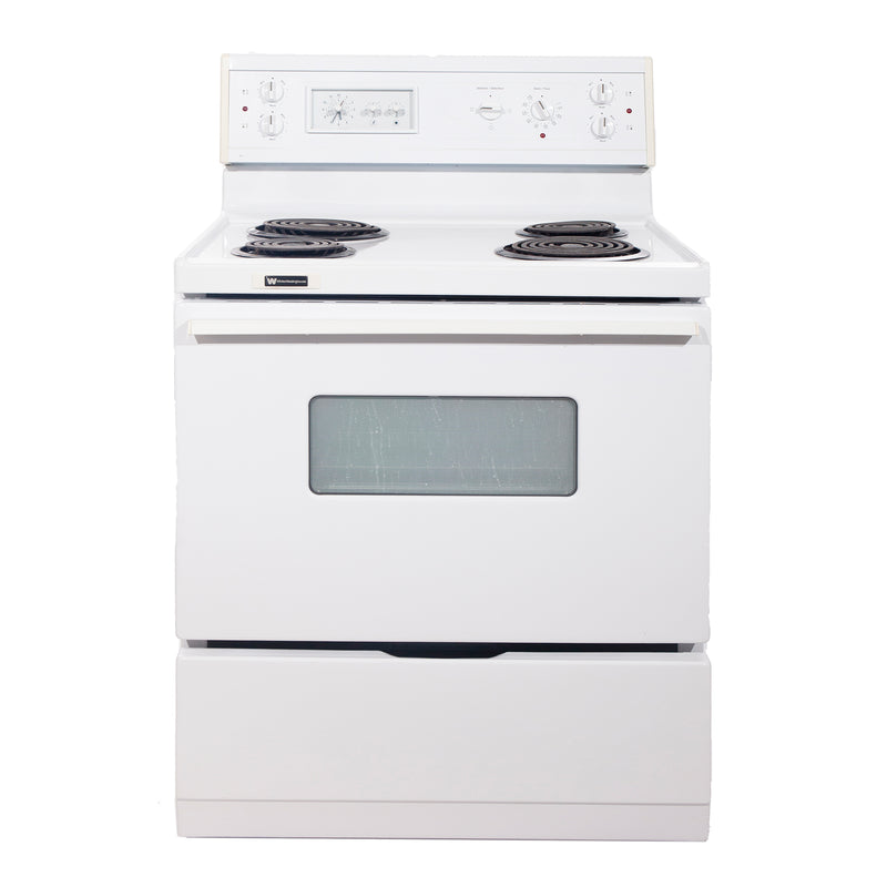 Whirlpool 30'' Electric Stove Electric Stove CMEF315QES-1 White