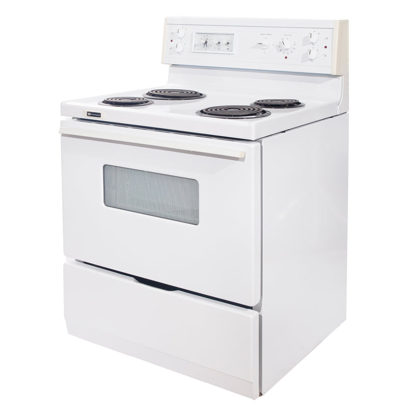 Whirlpool 30'' Electric Stove Electric Stove CMEF315QES-1 White (1)