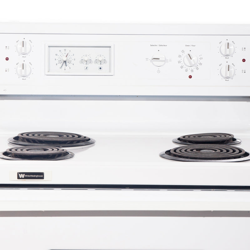 Whirlpool 30'' Electric Stove Electric Stove CMEF315QES-1 White (3)
