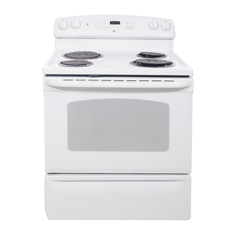 GE 30'' Electric Stove Electric Stove JCBP35D P2WW White