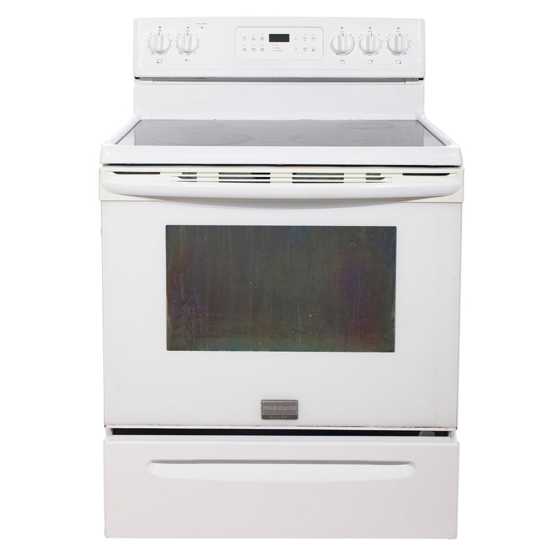 Frigidaire 30'' Electric Freestanding Electric Stove CGEF3031KWA White