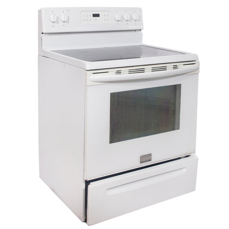 Frigidaire 30'' Electric Freestanding Electric Stove CGEF3031KWA White (1)