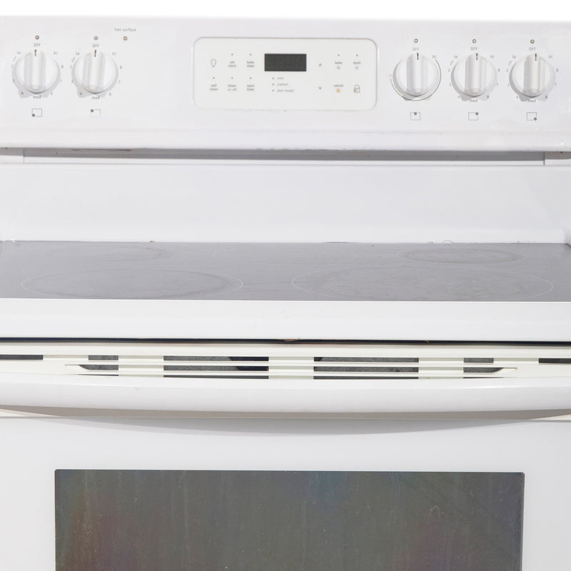 Frigidaire 30'' Electric Freestanding Electric Stove CGEF3031KWA White (3)