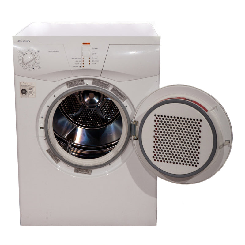Simplicity 23.625' Simplicity Dryers SCD5505W White (2)