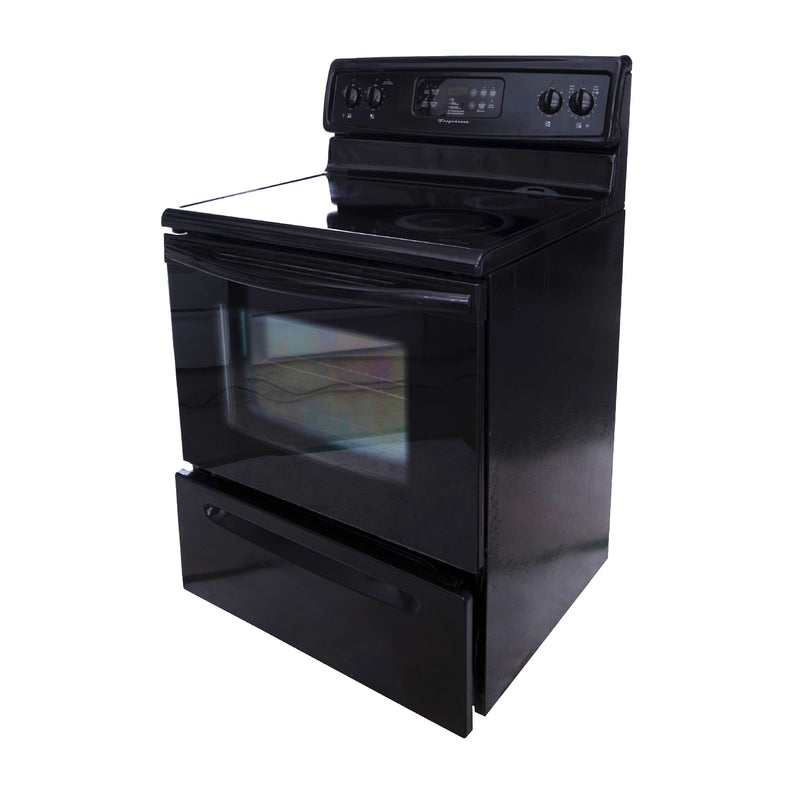 Frigidaire 30' Electric Stove ND. Black (2)
