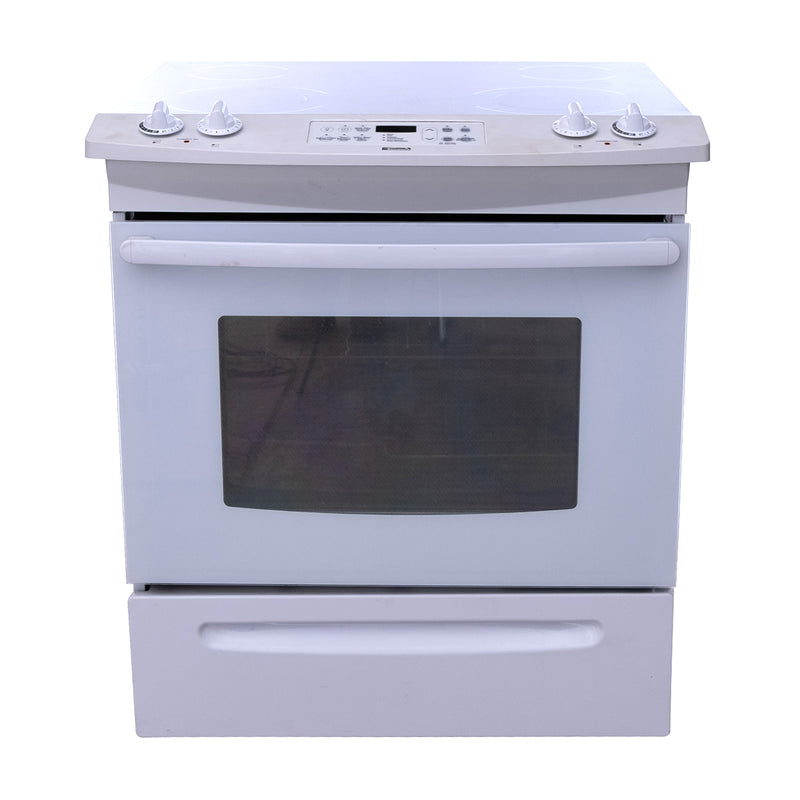 Kenmore 30' Electric Stove C970-440122 White