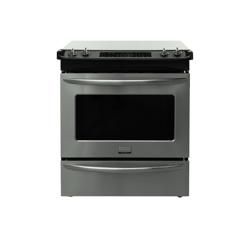 Frigidaire 31.5' Gallery Electric Stove CGFS3C5KFS Stainless steel