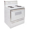 30' Electric Stove WF48TW-5 White (1)