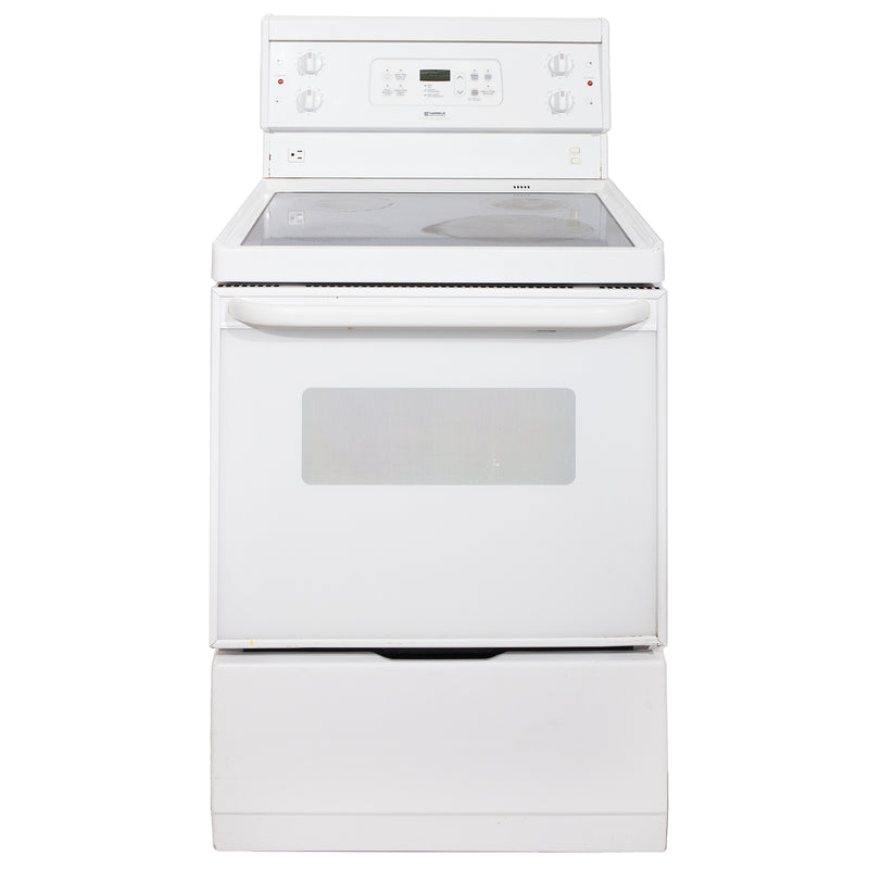 Kenmore 24' Electric Stove Electric Stove C970-495528 White
