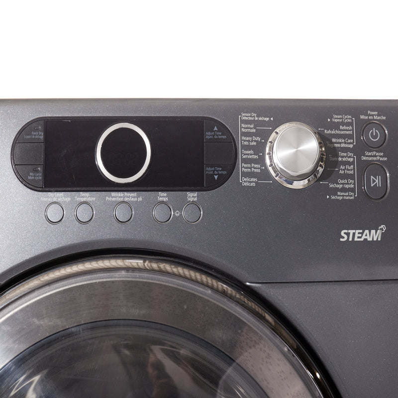 Samsung 27' STEAM Dryers DV339AEG/XAC Stainless steel (3)
