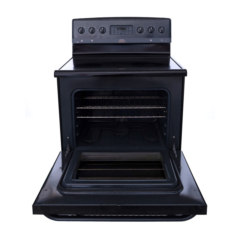 Frigidaire 30' Gallery Electric Stove CFES387CFB3 Black (3)