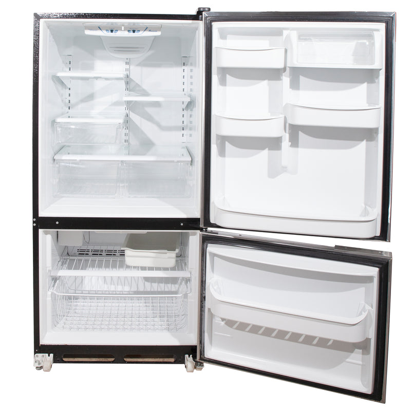 Whirlpool 30' Bottom Mount Refrigerators ABR192ZWES1 Stainless Steel (2)
