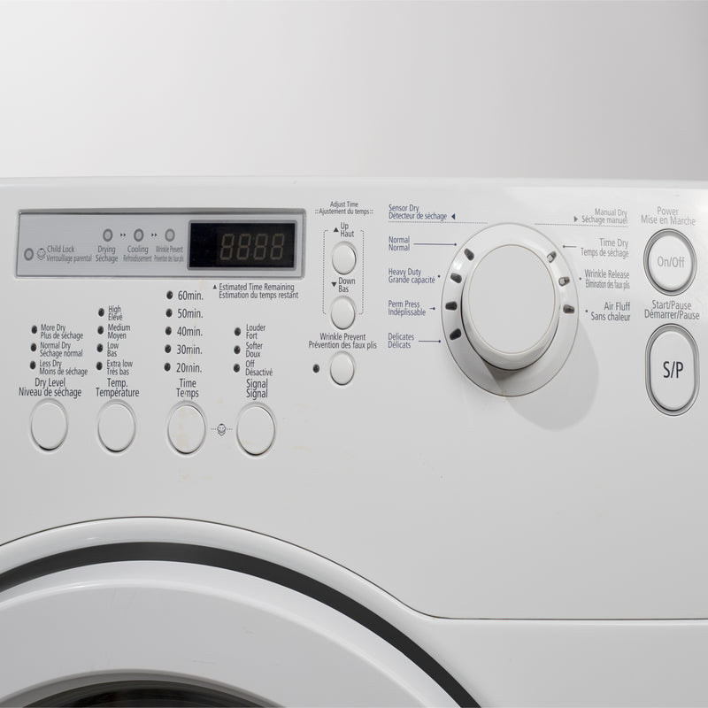 Samsung 27.5' Dryers BED70W White (3)