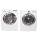 LG 27'' Stackable Laundry Pair Stackable Laundry Pairs WM2150HW and DLE5955W White