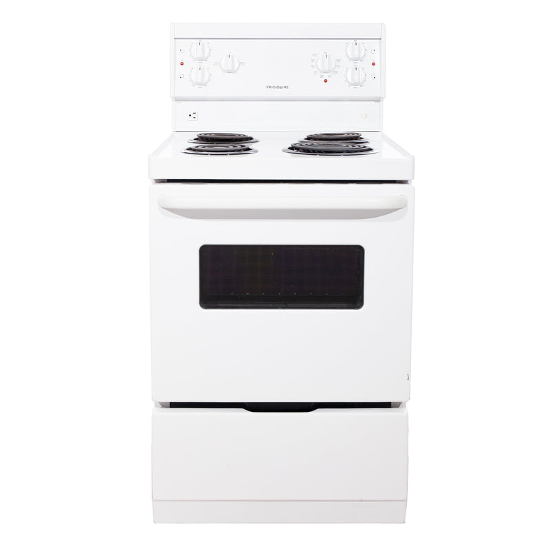 Frigidaire 24' Freestanding Electric Electric Stove CFEF2405LWA White