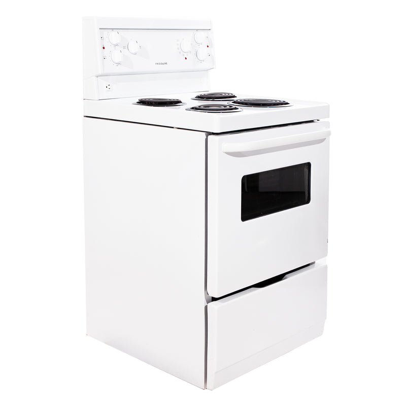 Frigidaire 24' Freestanding Electric Electric Stove CFEF2405LWA White (1)
