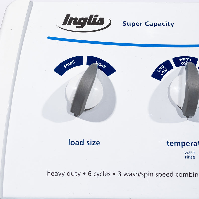 Inglis 27.5' Super Capacity Washers (Top Load) IP42003 White (4)