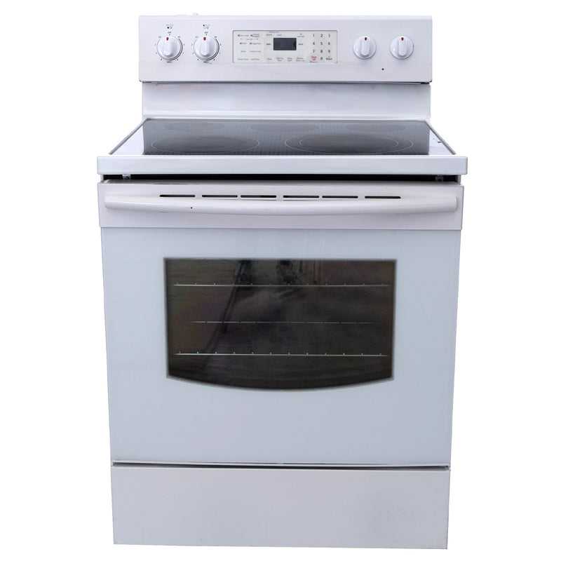 Samsung 30' Electric Stove FE-R400SW White