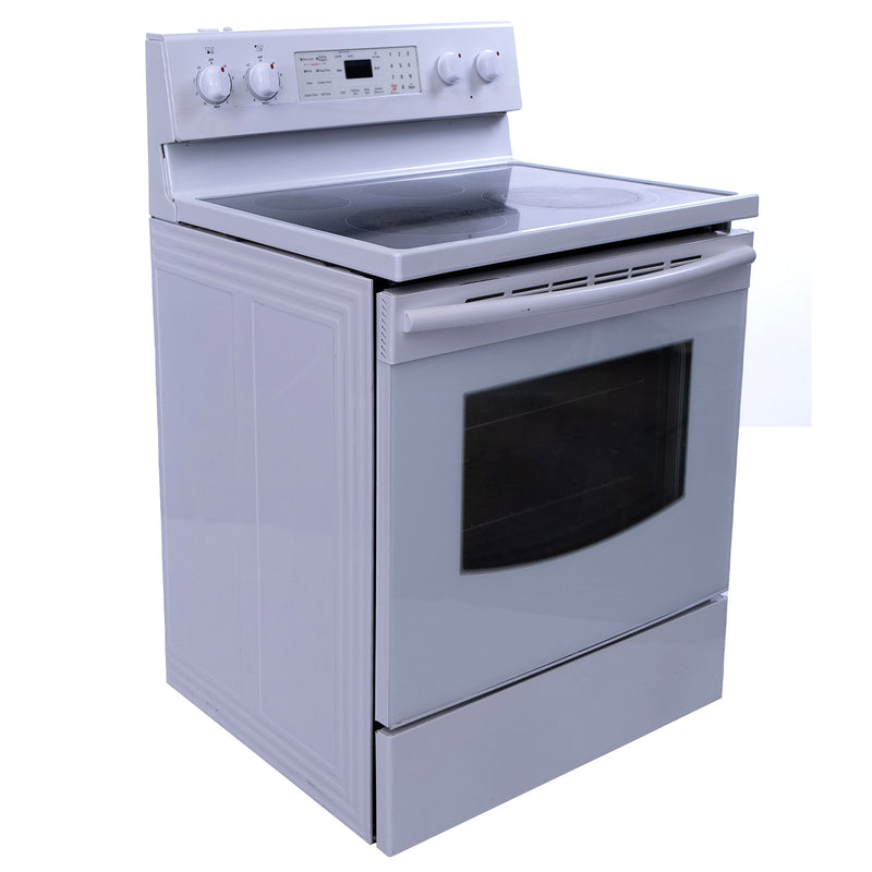 Samsung 30' Electric Stove FE-R400SW White (1)