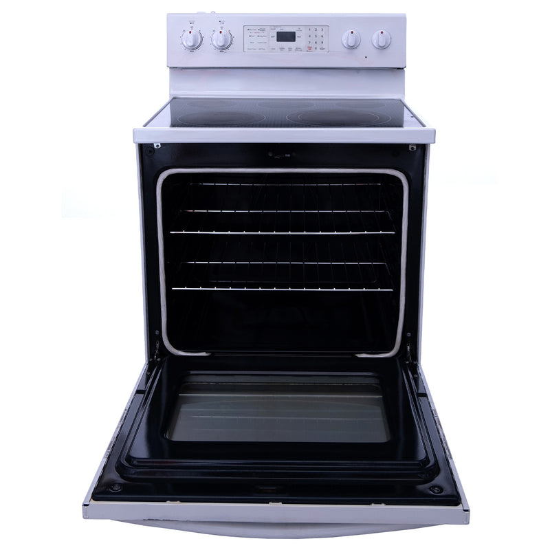 Samsung 30' Electric Stove FE-R400SW White (3)