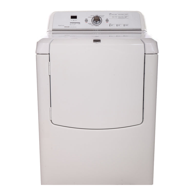 Maytag 28.5' Bravos quiet series 300 Dryers YMEDB400VQ0 White