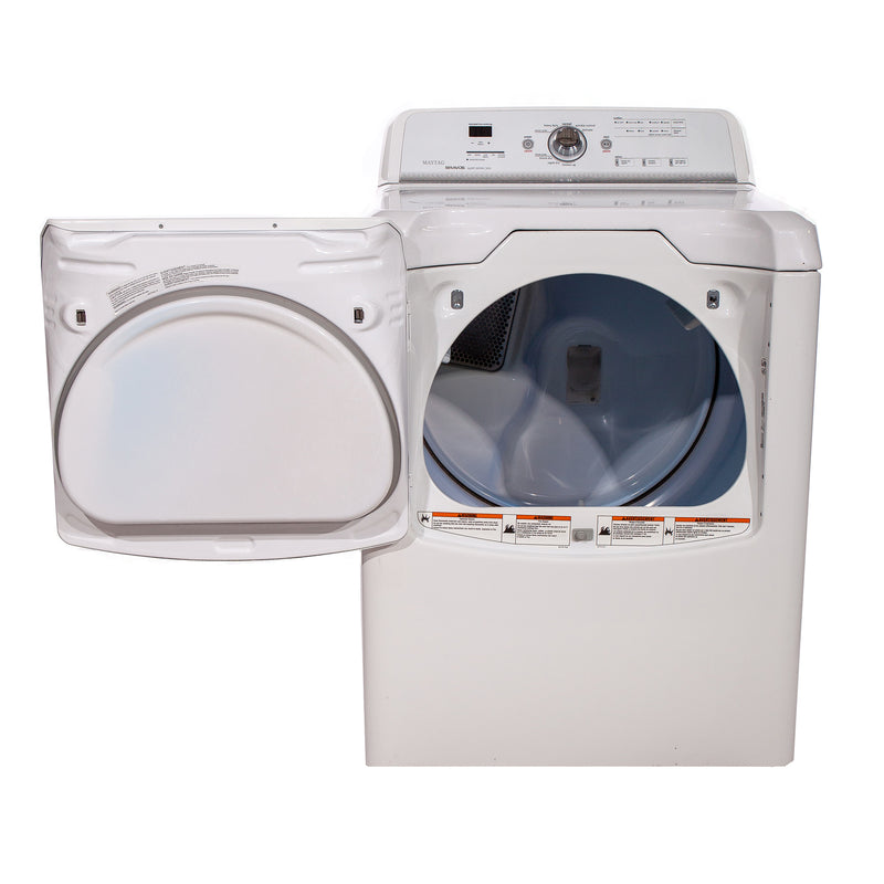 Maytag 28.5' Bravos quiet series 300 Dryers YMEDB400VQ0 White (2)