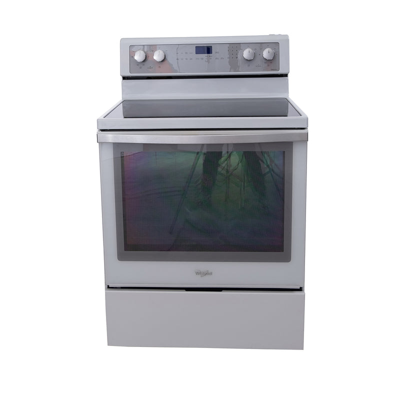 Whirlpool 30' Gold Series Electric Stove YWFE710H0BH1 White