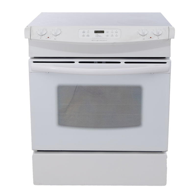 Frigidaire 30' Electric Stove CFES367DS1 White