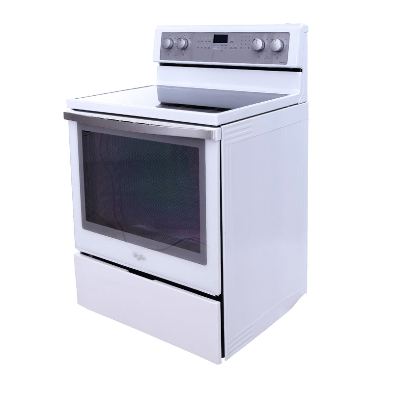 Whirlpool 30' Gold Series Electric Stove YWFE710H0BH1 White (1)