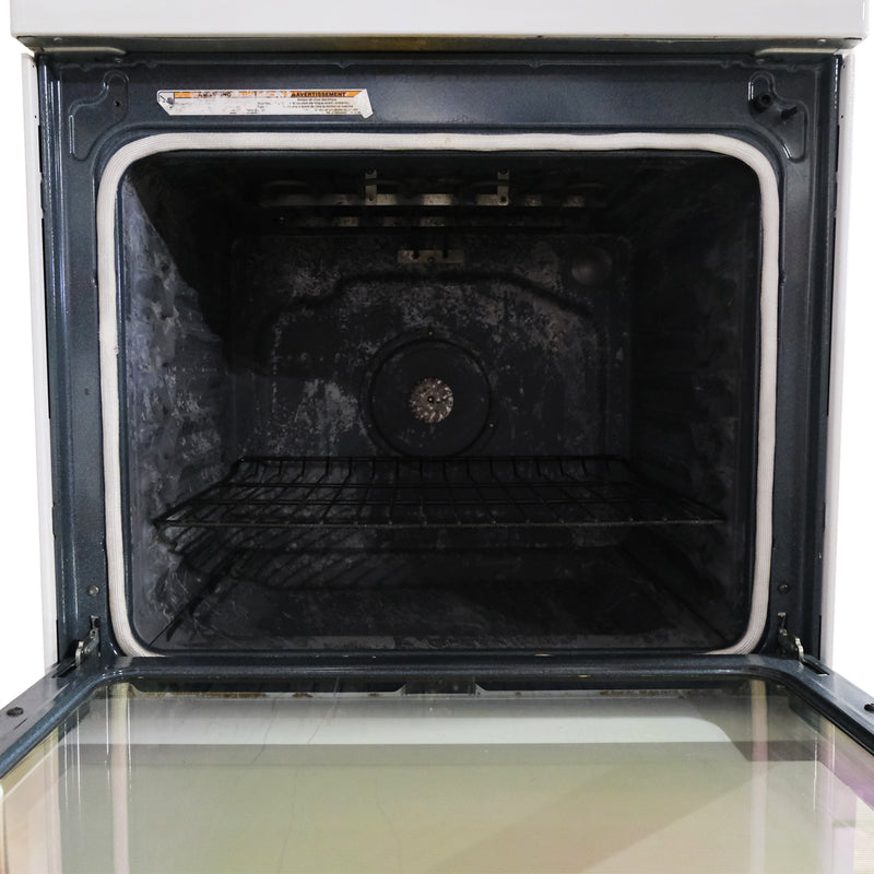 Whirlpool 30' Gold Series Electric Stove YWFE710H0BH1 White (2)