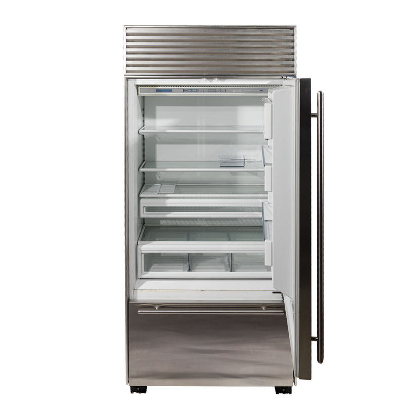 Sub-Zero 36' Dual 650 Refrigerators ND. Stainless steel (2)