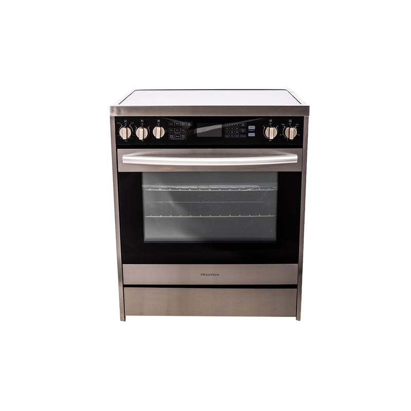 Hisense 30' Electric Stove HER30FSC Stainless steel
