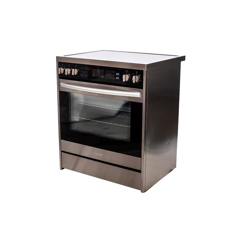 Hisense 30' Electric Stove HER30FSC Stainless steel (2)